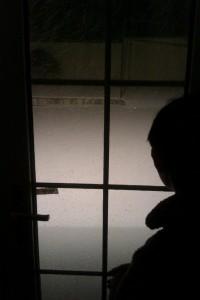 昨夜から降りしきる雪。。。 Since last night snow never stopped...
