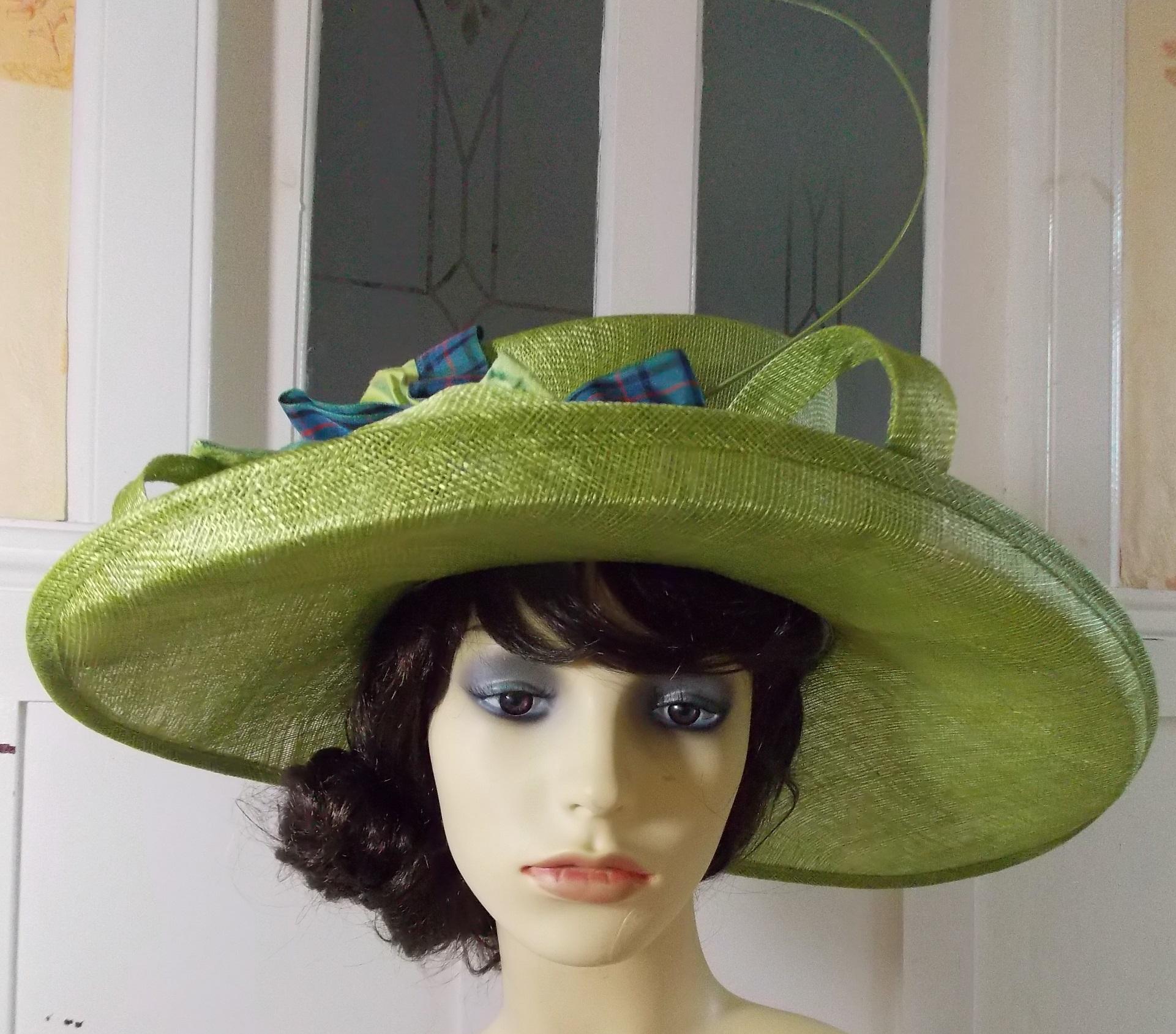Grass green hat 3