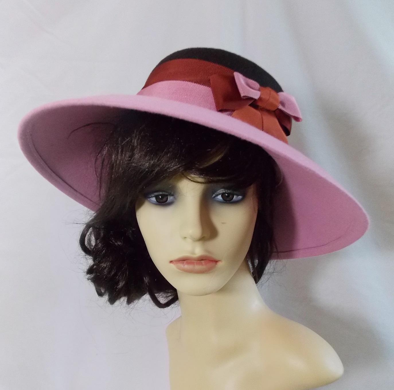 Pink with brown petersham 2012