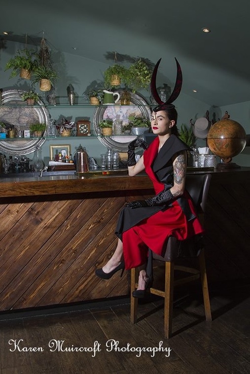Photo : Karen Muircroft Model : Becka Cain MUA : Kirsten Hendry Styling : Jackie Clark Stylist